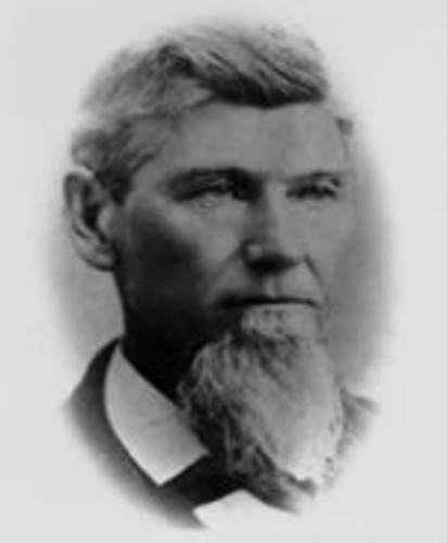 Photo of Sheriff Abraham G. Byler
