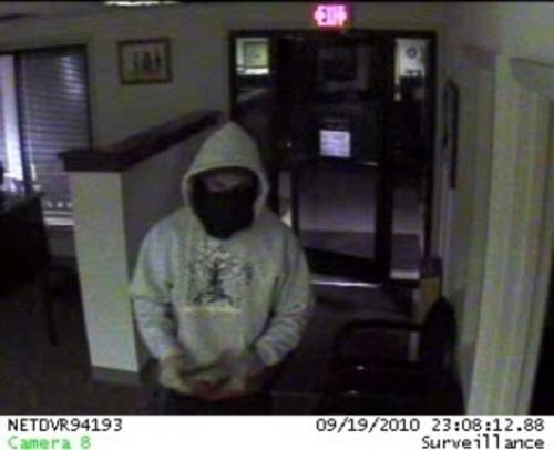 Photo of Bank Burglary  Unknown
